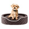 Sleep Philosophy Renny Quilted Memory Foam Orthopedic Oval Cuddler Bloster Dog Bed