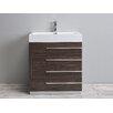 """Eviva Rino® 30"""" Single Modern Bathroom Vanity Set"""