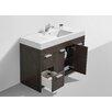 """Eviva Lugano 48"""" Single Modern Bathroom Vanity Set"""