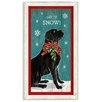 Suzanne Nicoll Studio Holiday Christmas Christmas Lab Framed Painting Print