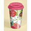 Lang 12 oz. Garden Birds Ceramic Travel Cup