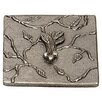 "Premier Hardware Designs Nature's Harvest Beet 4"" x 4"" Pewter Hand-Painted Tile in Natural Pewter"