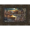 Midwest Art and Frame High Country Retreat Framed Painting Print