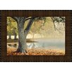 Midwest Art and Frame Lakeside by Donald Satterlee Framed Painting Print