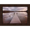 Midwest Art and Frame Lake Edna by Curt Kellett Framed Photographic Print