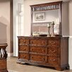 Fairfax Home Collections Waverly Place 9 Drawer Dresser with Mirror