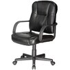 Comfort Products Relaxzen Massage Mid-back Leather Conference Chair