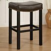 "Armen Living Tudor 30"" Bar Stool with Cushion"