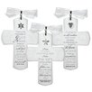 Lighthouse Christian Products 3 Piece Good News Glass Cross Set