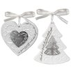 Lighthouse Christian Products 2 Piece Symbols of Christmas Ornament Set