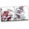 Design Art Baseball Strike Graphic Art on Wrapped Canvas