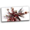 Design Art Basketball Lay Up Graphic Art on Wrapped Canvas