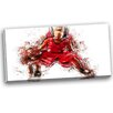 Design Art Basketball Dribble Graphic Art on Wrapped Canvas