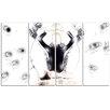 Design Art Meditation Mind Body & Soul 4 Piece Graphic Art on Wrapped Canvas Set