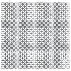 "Rustico Tile & Stone MeaLu 8"" x 8"" Circulos GW Cement Tile (Set of 6)"