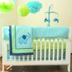 Pam Grace Creations ZigZag 10 Piece Crib Bedding Set