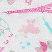 Pam Grace Creations Posh in Paris Crib Sheet (Set of 2)