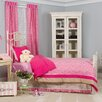 Pam Grace Creations Tabby Cheetah Twin Bedding Set