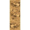 "Welles Hardwood 12"" Swirl Tiles Cork Hardwood Flooring in Natural"