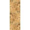 "Welles Hardwood 12"" Tiles Cork Hardwood Flooring in Natural Mosaic"
