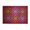 Sparkles Home Rhinestone Flowers Placemat