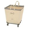Steele Canvas Square Carry Basket on Casters