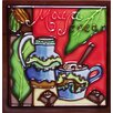 Continental Art Center Dark Coffee  #4 Tile Wall Decor