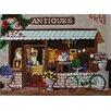Continental Art Center Antique Shop Tile Wall Decor