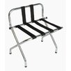 Central Specialties LTD Metal High Back Luggage Rack with Strap