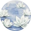 """Madhouse By Michael Aram Madhouse 7"""" Lotus Melamine Luncheon Plate"""