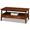 Leick Furniture Delton 2 Drawer Coffee Table