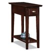 Leick Furniture Chocolate Oak End Table