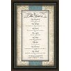 "Carpentree ""The Lord Is"" Framed Textual Art"