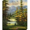 Carpentree O Lord, How Majestic Giclee Photographic Print on Wrapped Canvas