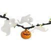 Darice Opaque Green Mini Halloween with Pumpkins and Ghosts with 50 Lights
