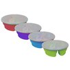 Mimo Style Homegoods Silicone Round Lunch Box (Set of 4)