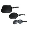 Mimo Style Homegoods 4 Piece Non-Stick Griddle set