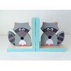 Maple Shade Kids Raccoon Bookend (Set of 2)