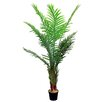 GSC, Inc 5 Feet Aritificial Paradise Palm Tree in Plastic Pot