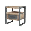 ASTA Home Furnishing Industrial End Table