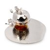 Classic Touch Rosh Hashanah Tray and Honey Dish Set