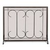 Pilgrim Hearth Gate 1 Panel Iron Fireplace Screen