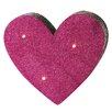 G! Brands LED Glitter Heart Figurine