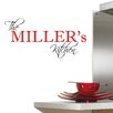 Decal the Walls This Personalized Family Name Wall Decal