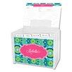 Whitney English Suzani Script Personalized Recipe Box