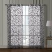 VCNY Ariana Flocked Curtain Panel Pair