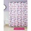 VCNY Butterfly 15 Piece Shower Curtain Set