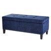 Madison Park Shandra Tufted Top Bench Storage Ottoman