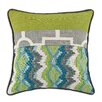 Brite Ideas Living Chino and Smoke Corded Throw Pillow