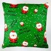 Artisan Pillows Christmas Merry Christmas Santa Claus Throw Pillow